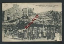 "Hôtel Restaurant  ""Au Lion De La Gileppe"" Grande Animation, Attelage. Edition G. Hermans. 3 Scans. - Gileppe (Stuwdam)"