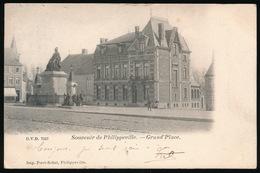 SOUVENIR DE PHILIPVILLE  GRAND'PLACE - Philippeville