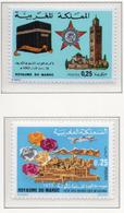 1973 - MAROCCO - MAROC - Yv:  Nr. 677+678 - NH - (UP121.2) - Marocco (1956-...)