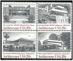 ETATS UNIS D'AMERIQUE - Architecture 1982 - Neufs
