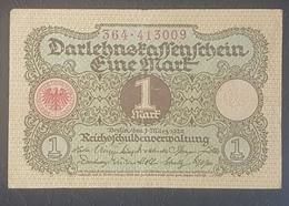 EBN12 - Germany 1920 Banknote 1 Mark P.59 WEIMAR REPUBLIC - [ 3] 1918-1933 : Weimar Republic