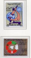 1973 - MAROCCO - MAROC - Yv:  Nr. 685+691 - NH - (UP121.2) - Marocco (1956-...)