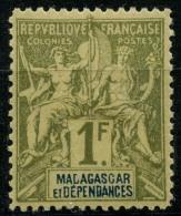 Madagascar (1896) N 41 * (charniere) - Ungebraucht