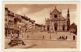 AMARO FELSINA RAMAZZOTTI - FIRENZE - PIAZZA S. CROCE - PUBBLICITARIA - Vedi Retro - F.p. - Firenze