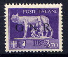 ITALIE/G.N.R - 15* - LA LOUVE - 1944-45 République Sociale