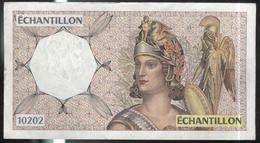 Billet Echantillon 10202 France - Test De Distributeur De Billets -  TTB+ - Fictifs & Spécimens