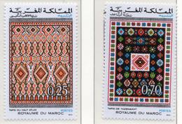 1973 - MAROCCO - MAROC - Yv:  Nr. 692+693 - NH - (UP121.2) - Marocco (1956-...)