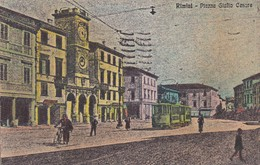CARTOLINA - POSTCARD - RIMINI - PIAZZA GIULIO CESARE - Rimini