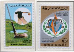 1973 - MAROCCO - MAROC - Yv:  Nr. 695+697 - NH - (UP121.2) - Marocco (1956-...)