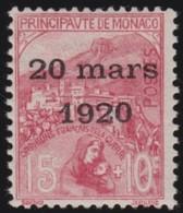 Monaco   .   Yvert    39      .     *      .      Neuf Avec  Charniere   .    /    .     Mint-hinged - Monaco