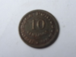 10 CENTAVOS 1949. - Angola