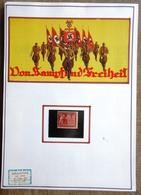 DR Mi. Nr. 863 Postfrisch ** Auf Selbstgestaltetem Sammlerblatt Foto Von Kampf Und Freiheit - Allemagne