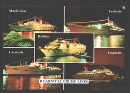 Jamaica - Carnival Cruise Lines - Mardi Gras - Carnivale - Multiview - Ferry Boat - Veerboten
