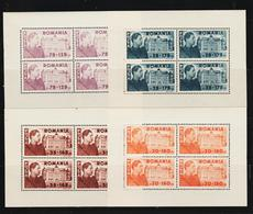 1945 -  Bibloteque Nationale Mi Bl 831/834 KLEINBOGEN   MNH - Ungebraucht