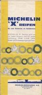 DEUTSCHLAND (ALLEMAGNE) - CARTE ROUTIÈRE MICHELIN N° 202 - 200.000ème - 1966. - Cartes Routières