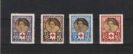 1945 - CROIX-ROUGE(REGINE HELENA)  MI No 827/830 MNH - 1918-1948 Ferdinand, Carol II. & Mihai I.