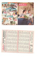 8015 Piccolo Calendarietto CARABINIERI 1958 Rivista - Calendriers