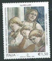 """Italia 2005; Patrimonio Artistico: """"Storie Dei Santi"""" Di Filippo Lippi, € 1,50 - 6. 1946-.. Repubblica"""
