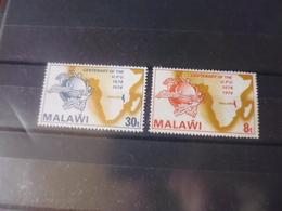 MALAWI  YVERT N°218+220 - Malawi (1964-...)