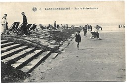 Blankenberge  Sur Le Brise - Lames - Blankenberge