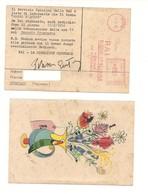 8039 Annullo Meccanico Rossa EMA RAI RADIO 1952 CARTOLINA - 1900-44 Victor Emmanuel III