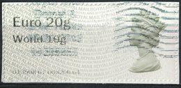 Royaume Uni Vignette Queen Reine Elizabeth II Type Machin Sur Fragment SU - Great Britain