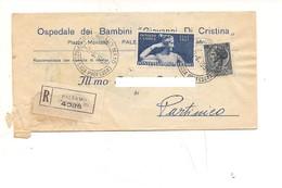 8058 CANOVA £60 SIRACUSANA £5 RACCOMANDATA TARIFFA RIDOTTA 1958 - 1946-.. République