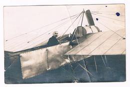 Carte Photo - Aviateur Dans Son Avion Au Décollage  -  3803 - ....-1914: Précurseurs