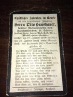 Sterbebild Wk1 Ww1 Bidprentje Avis Décès Deathcard RIR MENEN MENIN Block P Grab 603 Aus Kleinmünchen 10.Januar 1918 - 1914-18