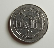 Syria 10 Pounds 1996 Varnished - Syria