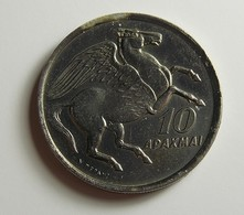 Greece 10 Drachmai 1973 Varnished - Griekenland