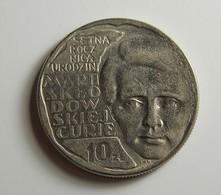 Poland 10 Zlotych 1967 Varnished - Pologne
