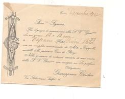 8071 TRAPANI INVITO LIBERTY ABITI CONFEZIONI CORDIER 1918 - Habits & Linge D'époque