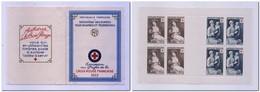 FRANCE 1953 - Carnet Croix-Rouge N° 2002 (YT 966/967) ** Neuf Sans Charnière MNH - Cote 160€ - Croix Rouge