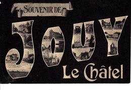 77 . Seine Et Marne .  Jouy Le Chatel : Souvenir . - Frankreich