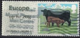 Royaume Uni 2012 Vignette Animaux De La Ferme Cow Vache Welsh Black SU - Great Britain