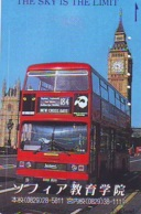 Télécarte Japon ANGLETERRE * ENGLAND * BUS  (320) GREAT BRITAIN Related *  Phonecard Japan * - Paisajes