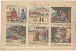 Image D' Epinal Pellerin - Chicorée Montagne - La Rivalité Des Cam Et Des Xa - Légende Tonkinoise - N° 4237 - Publicités