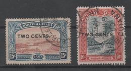 British Guiana, MH, 1899, Michel 104, 105 - Guyana Britannica (...-1966)