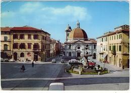 PONTEDERA PIAZZA UMBERTO I FG VG 1966 - Pisa