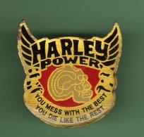 HARLEY POWER *** N°2 *** A011 - Motos