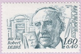 N° Yvert & Tellier 2228 - Timbre De France (Année 1982) - MNH - Robert Debré (Pédiatre) - Francia