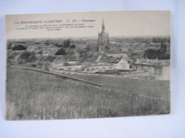 CPA 51 AY Panorama On Apercois Au Premier Plan Le Boulevard Du Nord Icendié Le 12 Avril 1911 TBE - Ay En Champagne