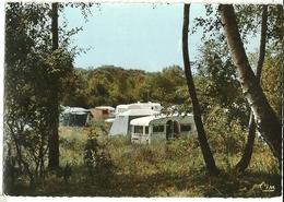 """St-LEU-d'ESSERENT Le Camping """"Les Prés Des Moines"""" Cim Cc 667 (timbre Décollé) - France"""