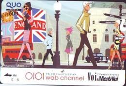 Carte Prépayée Japon * ANGLETERRE * ENGLAND *  (328) GREAT BRITAIN Related *  Prepaid Card Japan * - Landscapes