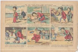 Image D' Epinal Pellerin - Chicorée Montagne - Les Japonnais Ont Aussi Leur Homme Au Long Nez  - N° 4210 - Publicités