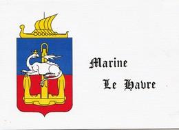 Carte - Marine - Le Havre - SEine-Maritime - Pêche