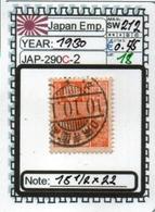 ASIA-#JAPAN EMPIRE CLASSIC## (JAP-290C-2 (18) - Usati