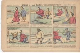 Image D' Epinal Pellerin - Chicorée Montagne - Bonne à Tout Faire ( La Natte D'un Chinois )  - N° 4245 - Publicités