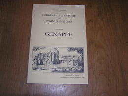 GEOGRAPHIE ET HISTOIRE DES COMMUNES BELGES Canton De Genappe Régionalisme Bousval Baisy Glabais Ways Maransart Thilly - Culture